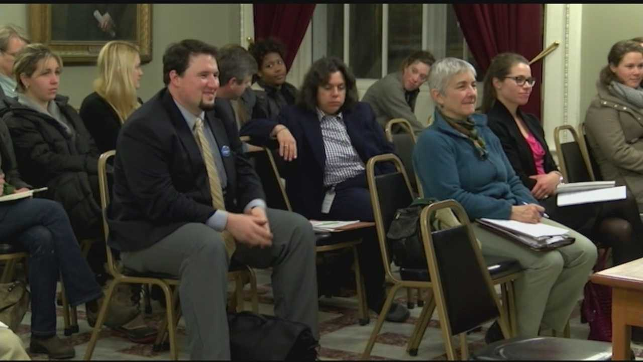 The Vermont Attorney General's office held a second public hearing Wednesday on the state's plan to implement rules on the labeling of food made with genetically modified organisms.