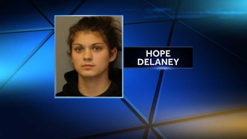 Hope M. Delaney, 21 years old of MoiraCriminal Use of a Public Benefit Card 2nd DegreePetit LarcenyMisuse of Food Stamps