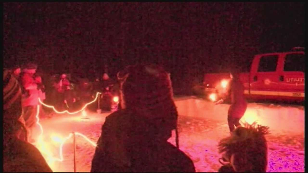 Milton's Winter Fest kicked off Friday night