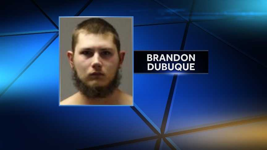 New York State Police arrested Brandon Dubuque, 20, of Rouses Point, for allegedly breaking into a pharmacy on Feb. 15, 2016 and trying to get into an ATM and cash registers. He is charged with third-degree burglary, second-degree criminal mischief and resisting arrest.
