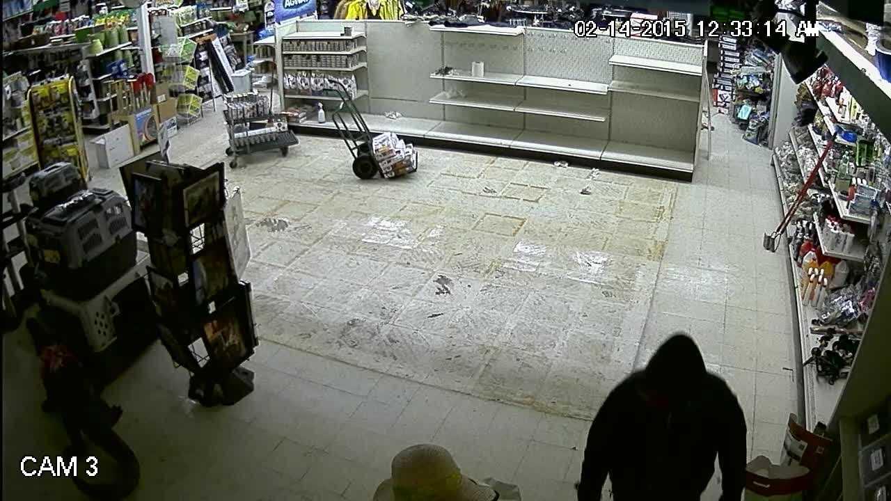 Williston Police Release Surveillance Video From Feb. 14, 2015 Agway Burglary