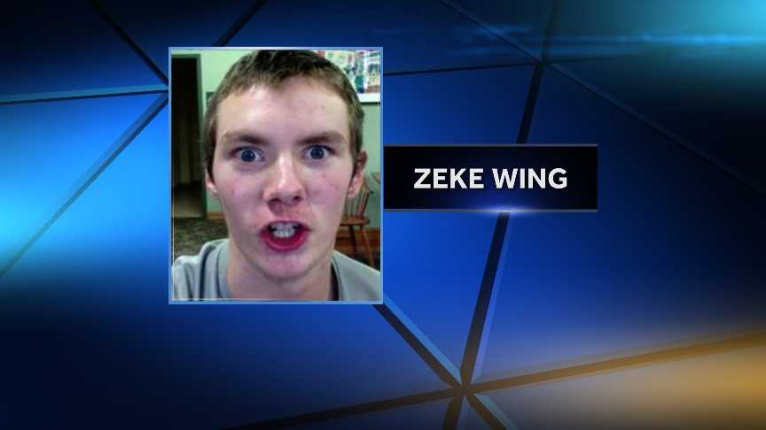 Vermont State Police are seeking the whereabouts of 16-year-old Zeke Wing, last seen Feb. 10, 2015 in Campton, N.H. He has ties to the Derby, Vt. area and may have been seen walking along Route 105 in Derby.