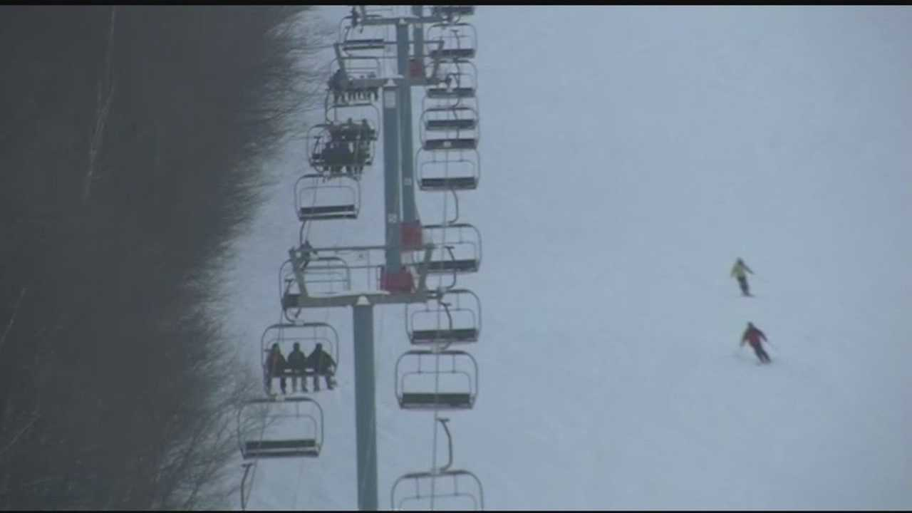 On Sunday, people enjoyed sunny skiing condition at Sugarbush. Those with Sugarbush, say overall the turnout this season has been great despite the cold February weather.