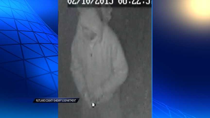 Shown here: Police identify this man as a person of interest