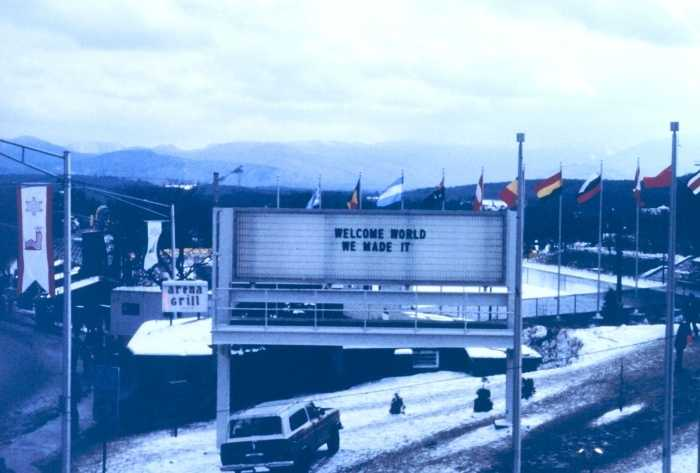 As ORDA seeks to upgrade, we revisit the 1980 Olympics in Lake Placid. Photos are courtesy of National Oceanic & Atmospheric Administration (NOAA.) Dr. John Kelly, NOAA/NOS/CSDL, is the credited photographer.