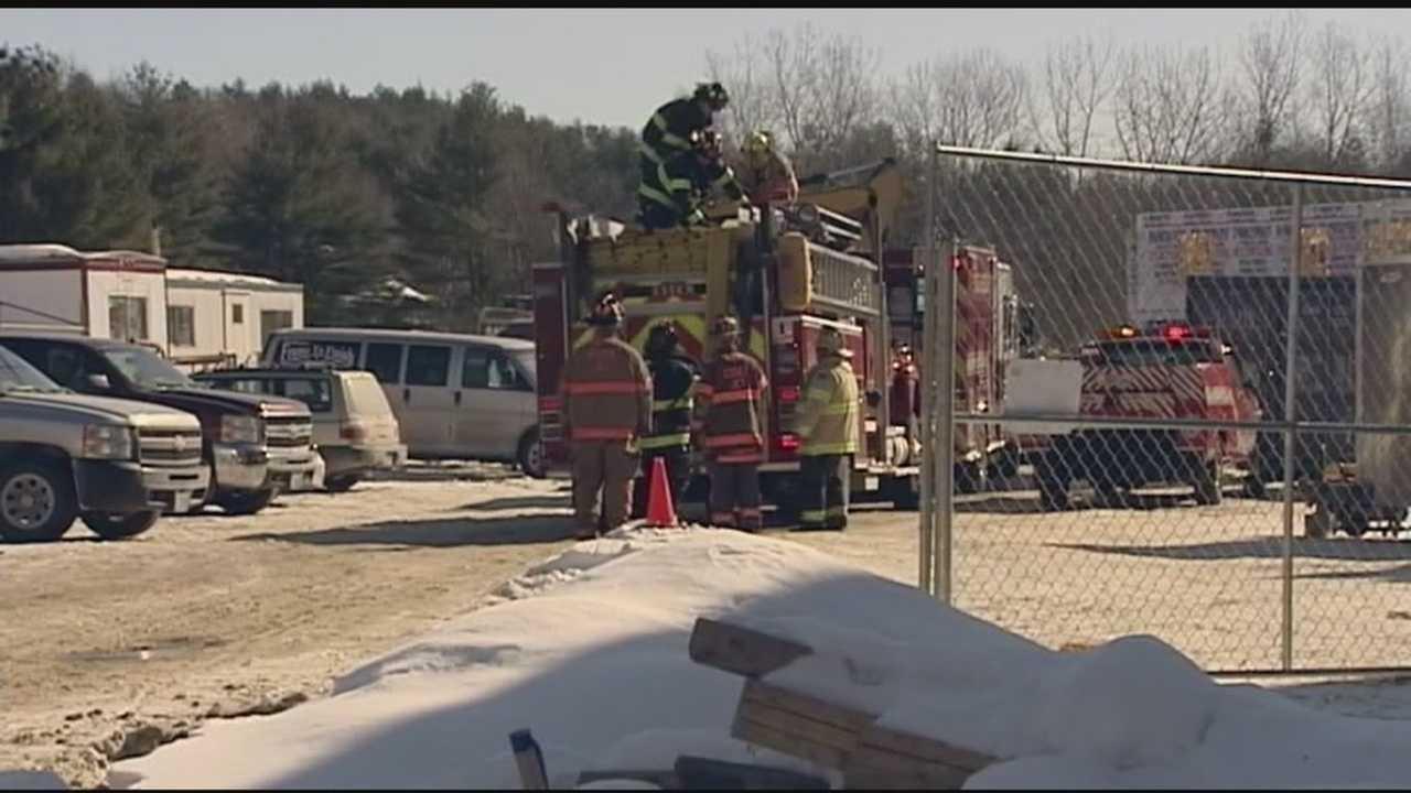 Essex Junction fire crews helped fix punctured gas line.