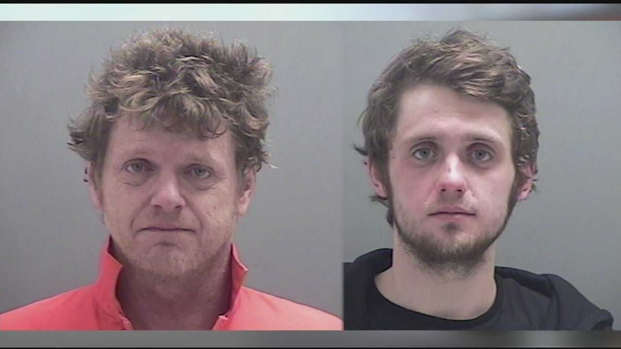 Police apprehended the pair at a diner