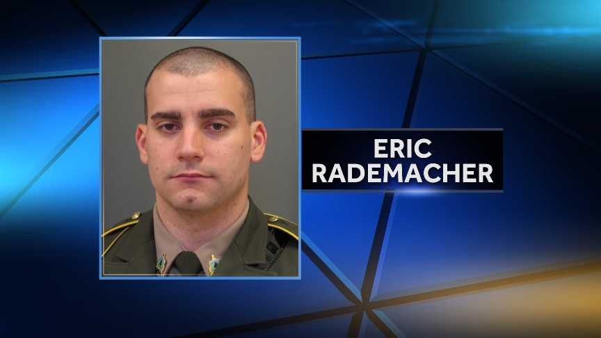 Rutland-based Vermont State Police trooper Eric Rademacher is under investigation on suspicion of driving under the influence. Rademacher was placed on paid live on March 2, 2015.