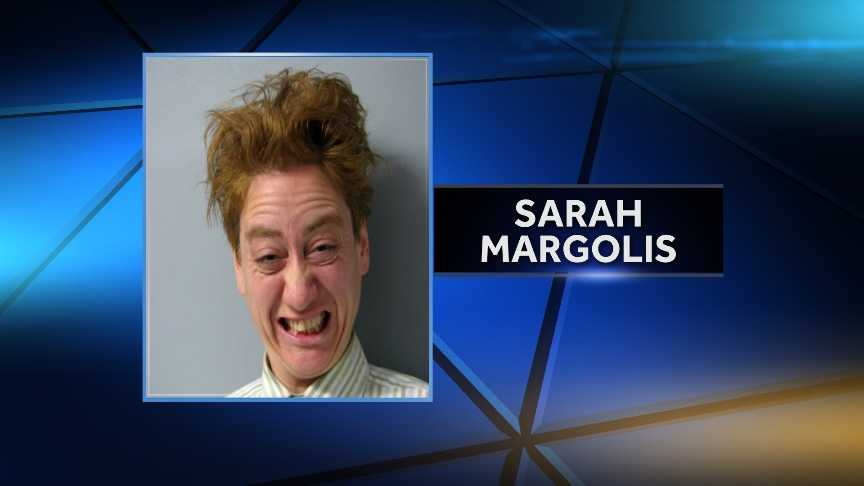 South Burlington Police arrested 43-year-old Sarah Margolis on March 9, 2015 for allegedly making false public alarms. Police say she called 911 eight times on Monday to chat about state issues and her personal agenda.