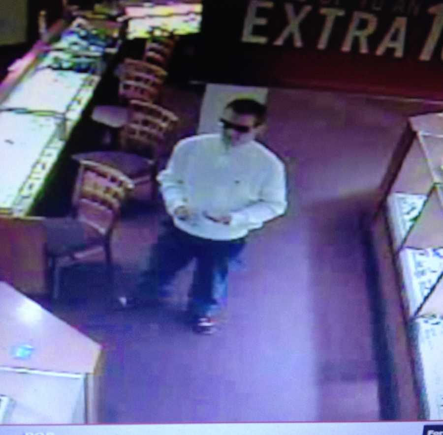 South Burlington Police are looking for this man. They say he stole a diamond ring from Zales at the University Mall on Tuesday.
