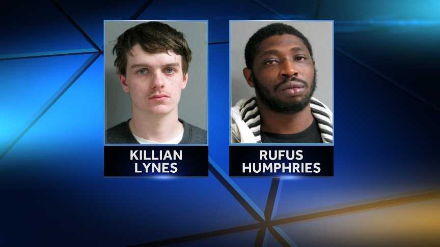Vermont State Police arrested Killian Lynes and Rufus Humphries on charges of possession and trafficking of heroin. Police say they found 600 bags of heroin in the car during a traffic stop on Route 5 in Rockingham.