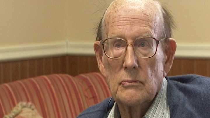 State Sen. William Doyle is interviewed Monday.