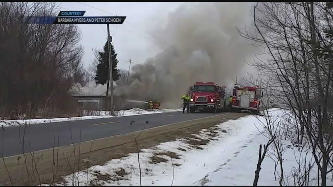 American, Canadian firefighters provide aid