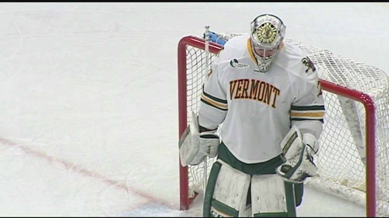 UVM goalie, Brody Hoffman, signs with Wild