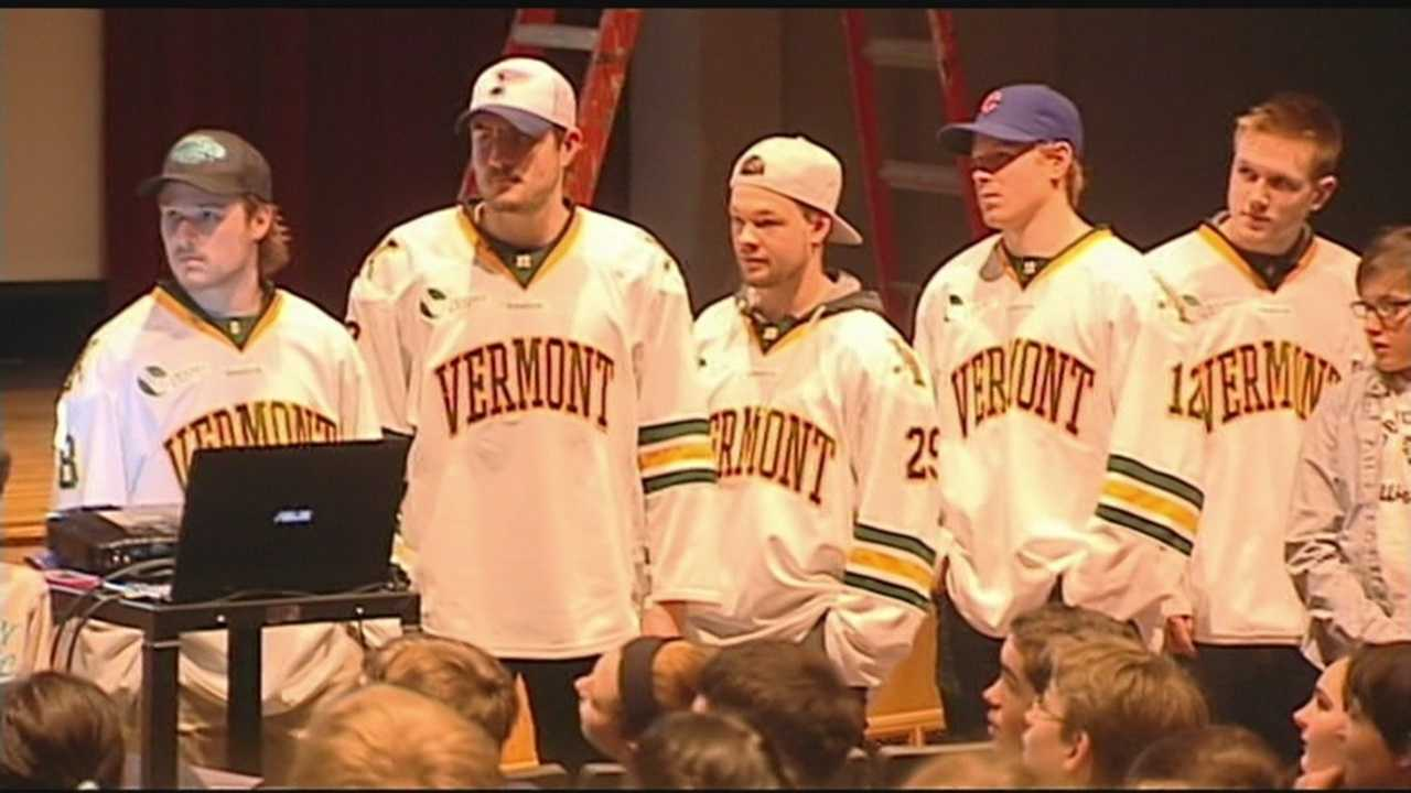 Vermont hockey joins anti bullying campaign
