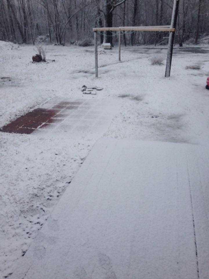 Steve sent us this photo from Plattsburgh
