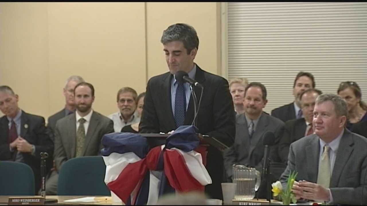 Mayor Weinberger is sworn in for second term