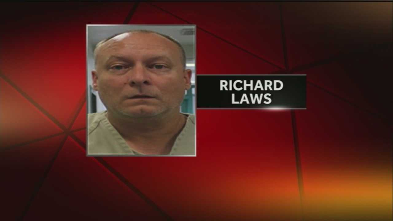 Convicted sex offender, Richard Laws, was released from prison after maxing out his sentence.