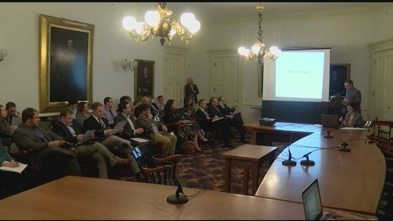 Lt. Gov. Phil Scott and the Lake Champlain Regional Chamber of Commerce hosted the Vermont Young Professional Economy Pitch on Tuesday at the Statehouse.