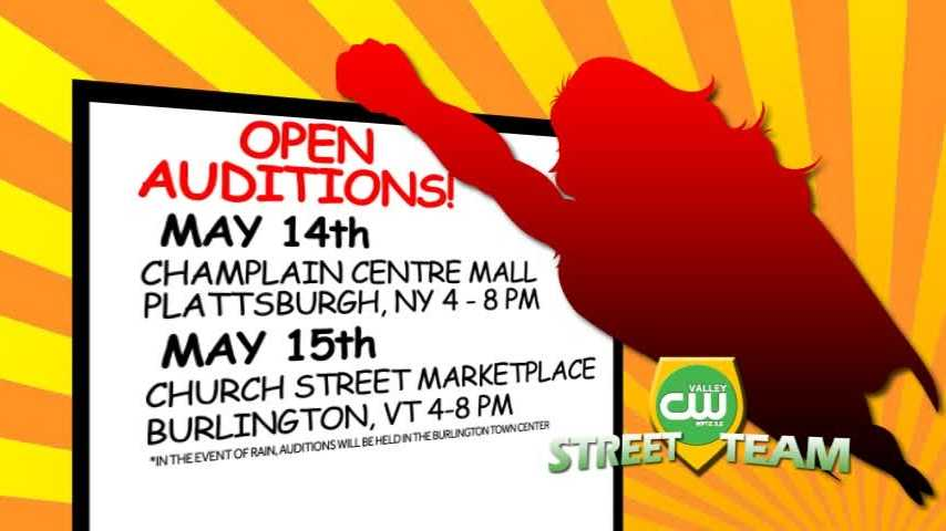 Now is your chance to join The Valley CW Street Team