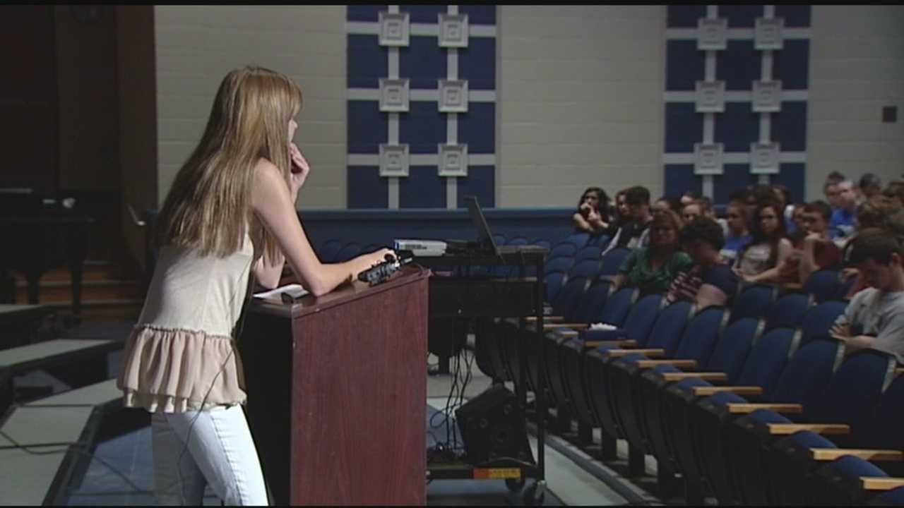 Teens attend pre-prom assemblies