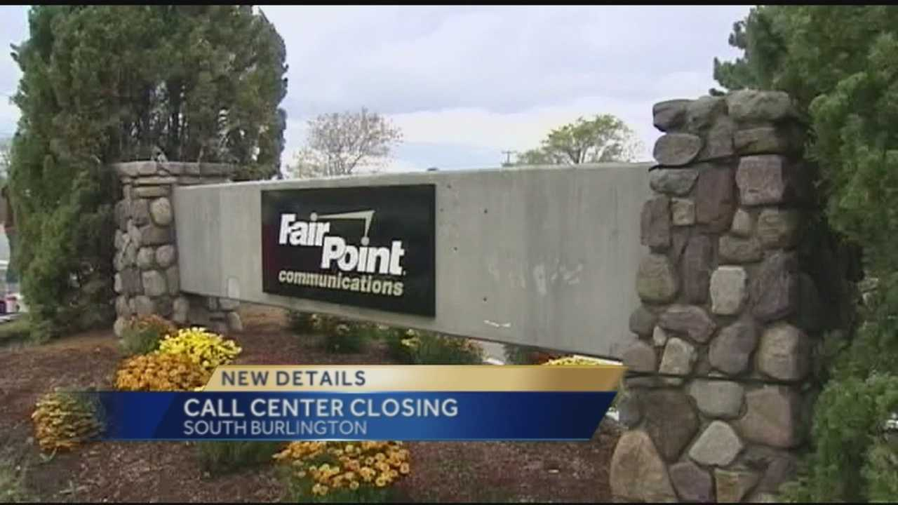 Closing South Burlington call center