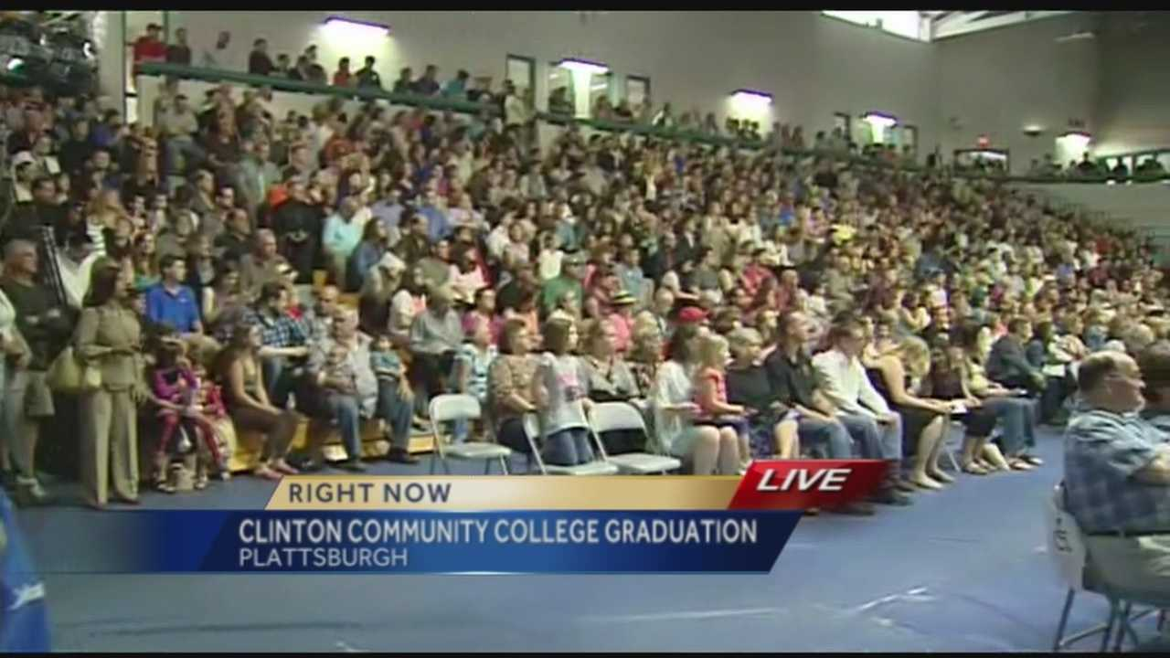 Clinton Community College graduation