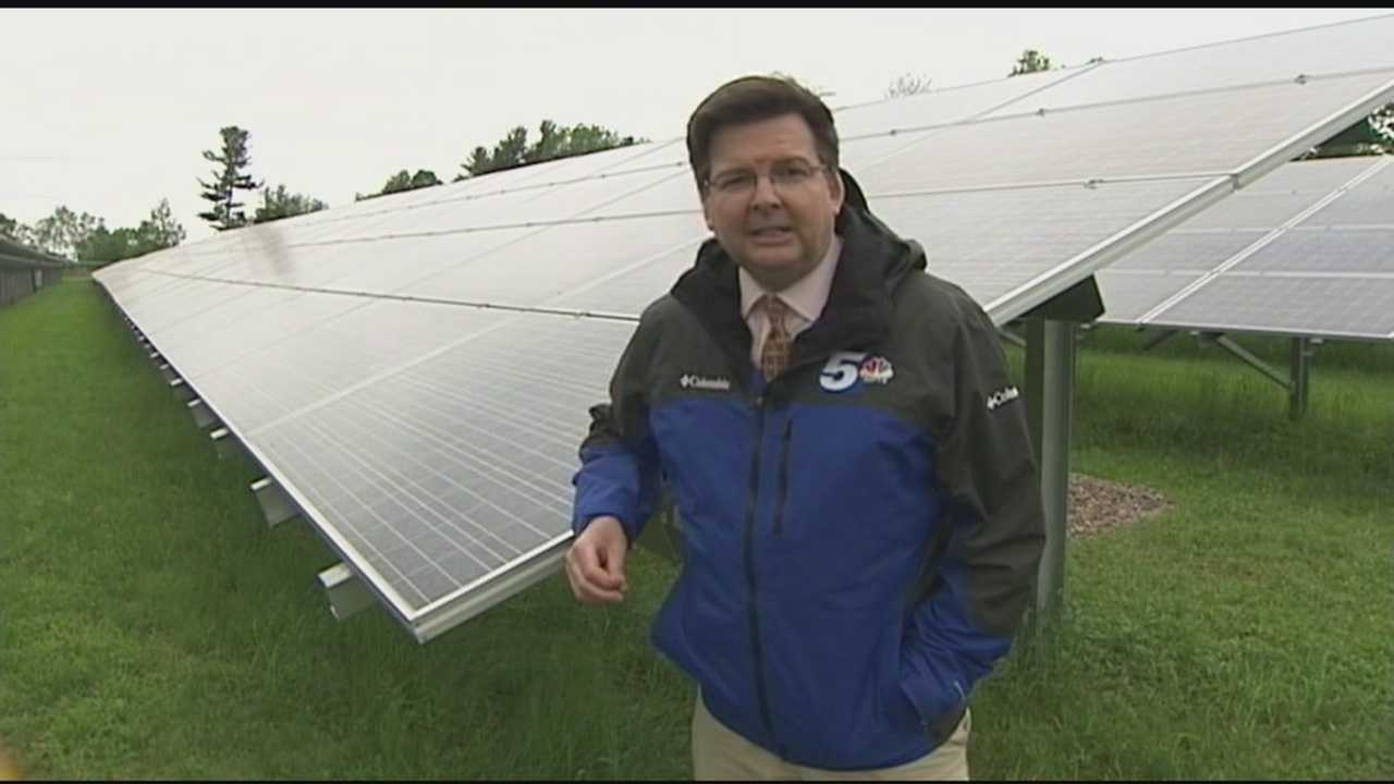 Vermont's largest solar project yet opens on Essex dairy farm, helping stabilize the business while generating renewable energy.