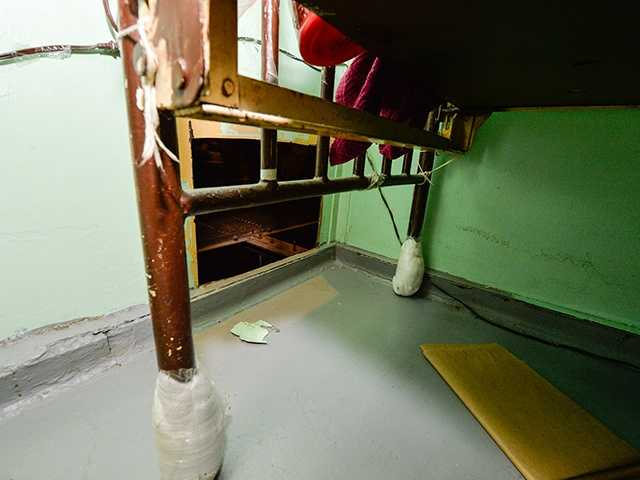 Corrections officers discovered holes in the back of the men's cells that led to their escape route.