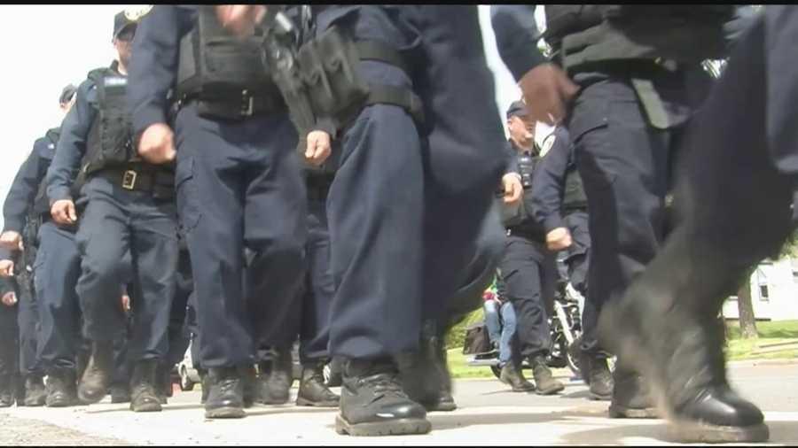 Law enforcement makes community feel secure