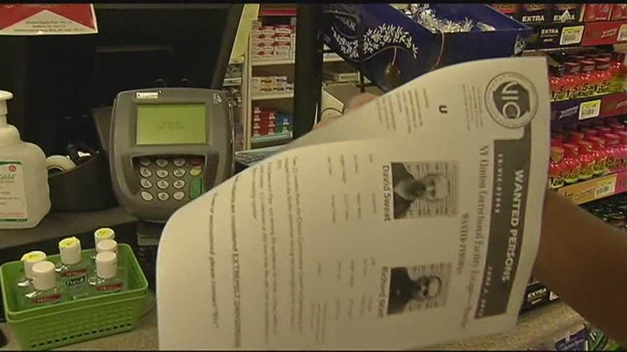 Vermont State Police visited businesses across Addison County Wednesday night, spreading a flier and informing residents of a new theory that the convicted killers that broke out of jail.