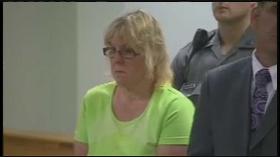 Prison worker Joyce Mitchell was moved Saturday from the Clinton County Jail to a jail away from the area.