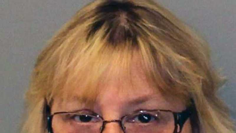 This Friday, June 12, 2015 photo provided by the New York State Police shows Joyce Mitchell. Mitchell is accused of helping inmates David Sweat and Richard Matt escape from the Clinton Correctional Facility in Dannemora, N.Y. on June 6, 2015. Authorities say that Mitchell, a tailor shop instructor at the prison provided some of the tools that the men used in their escape. They are still at large.