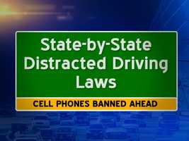 New Hampshire becomes the latest state to ban the use of cell phone while driving on July 1. The laws are not the same in states across the Northeast and mid-Atlantic. Here's a breakdown....