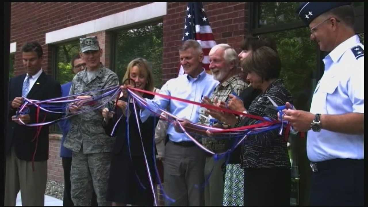 Dozens of veterans and state leaders gathered in White River Junction on July 2 for the VA's ribbon cutting ceremony of its new Vet Center.