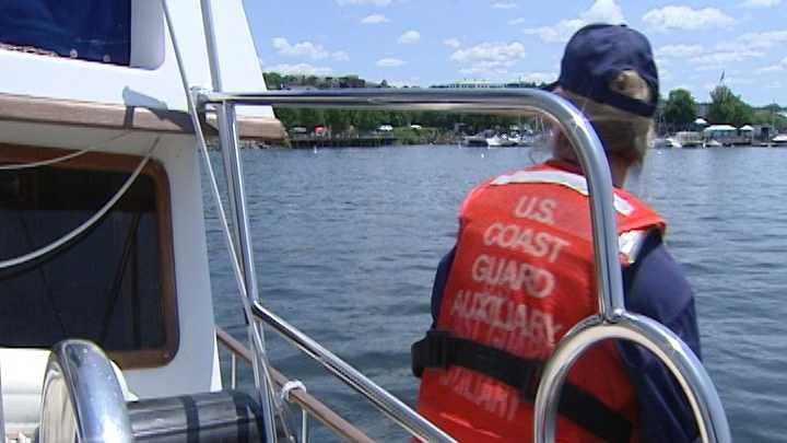 Coast Guard Auxiliary in Lake Champlain