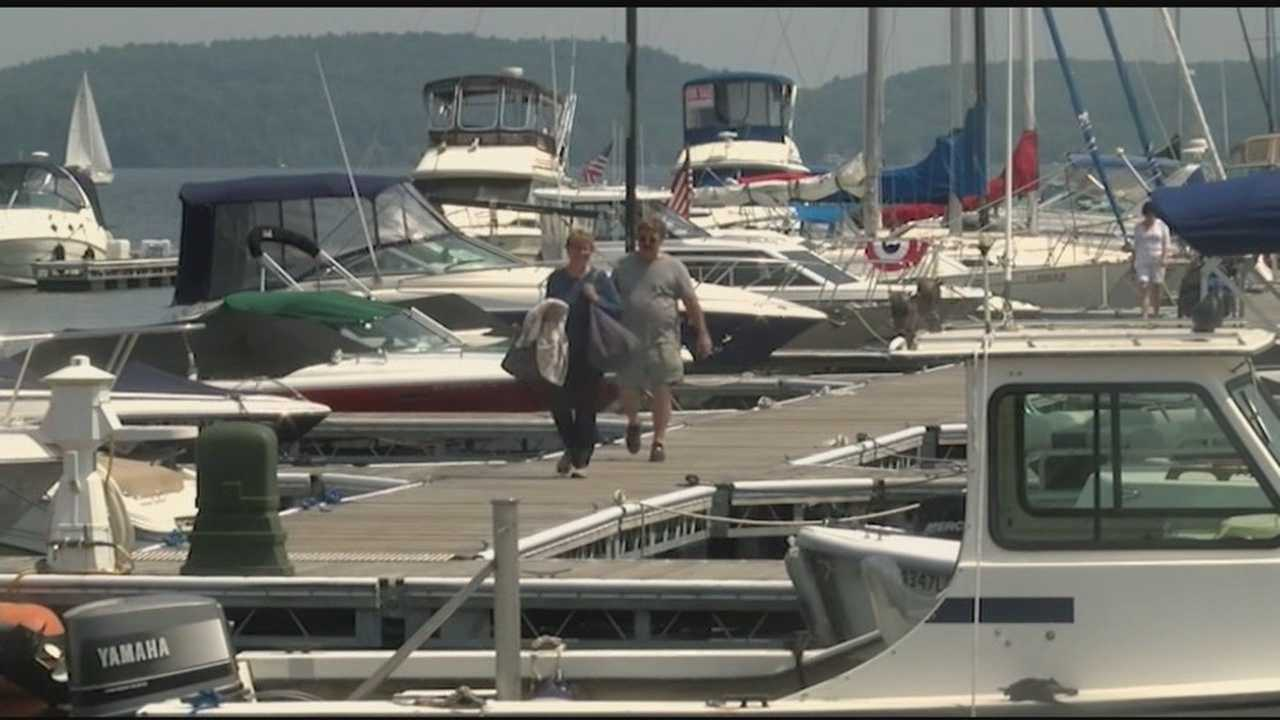 With the nice weather people were outside celebrating over the Fourth of July weekend on the lake or out at restaurants. The holiday gave a little boost to some business owners.