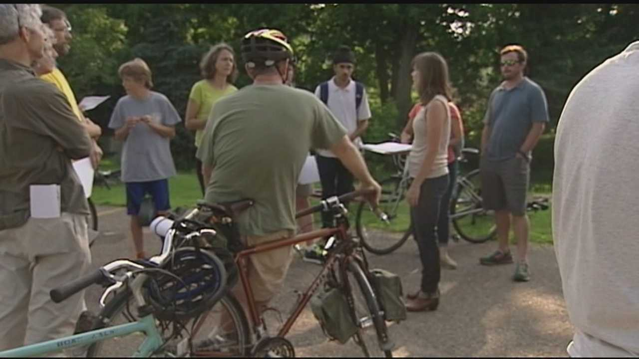 On Wednesday, people participated in the PlanBTV Walk Bike Handlebar and Walkabout Surveys. This was opportunity for the public to help shape a more walkable and bikeable Burlington.