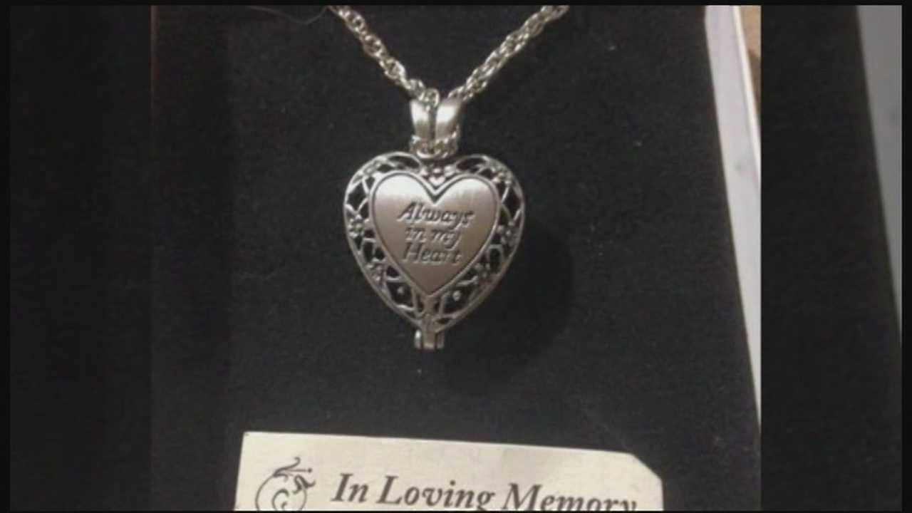Listen Community Services is looking for the owner of a locket. A woman bought the necklace in mid-June at the White River Junction Listen Thrift Store and told employees when she opened it up, she found a container she believes contains cremated ashes.