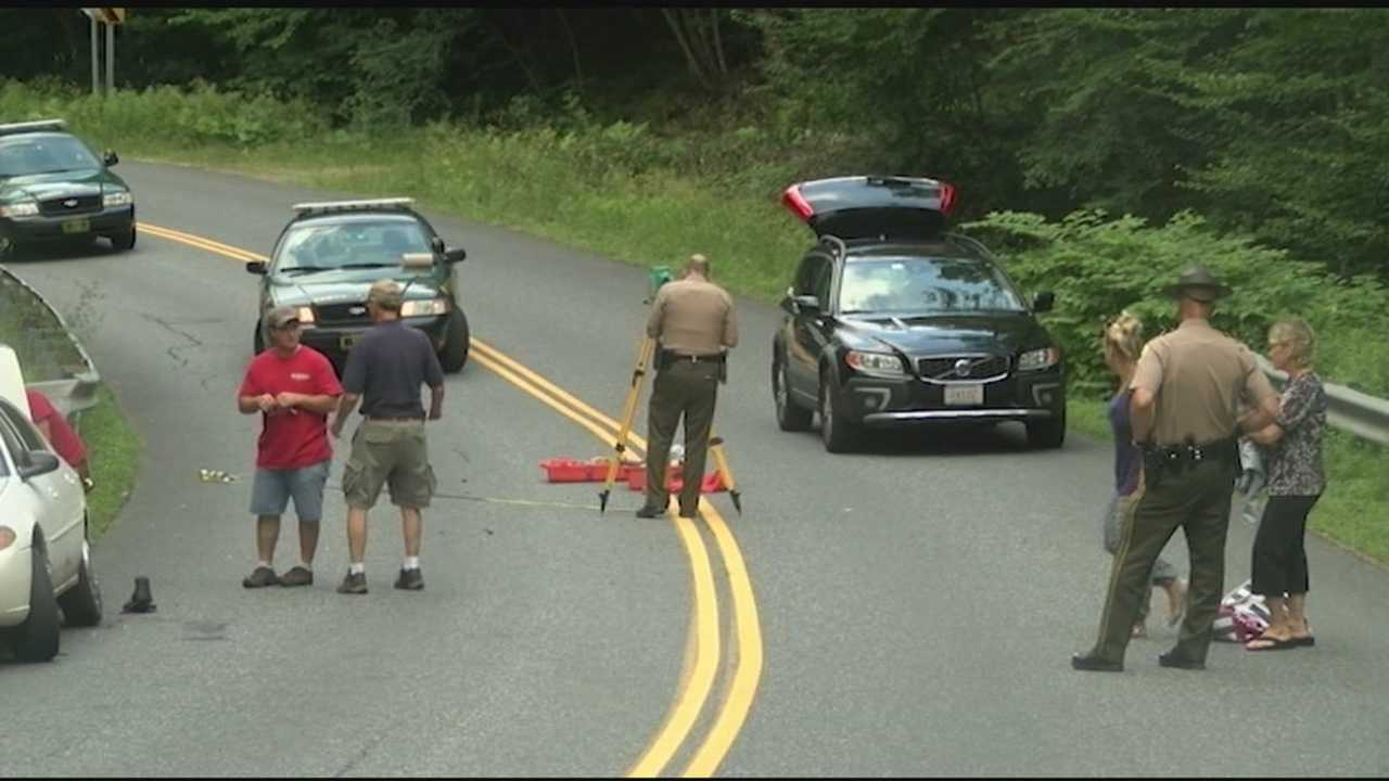 Two people who were on a motorcycle, were seriously injured when a car struck their bike. Vermont State Police say a firefighter showed up to help, but he was drunk. He now faces DUI charges.