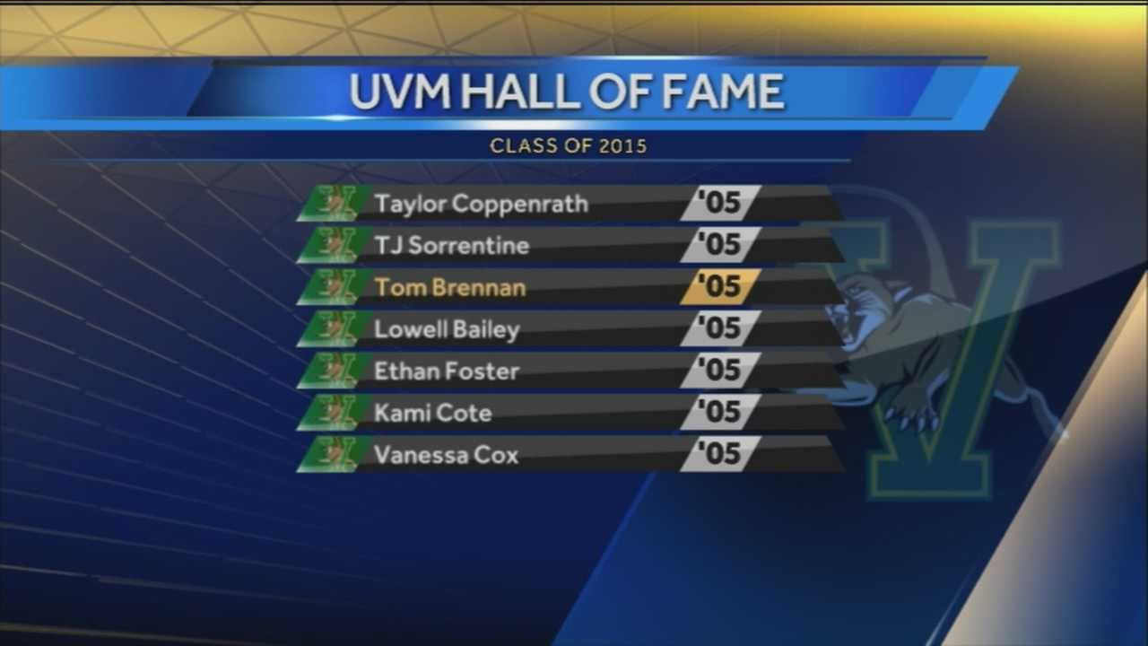 Meet WPTZ's newest Sports anchor, Jack Korte, and the newest UVM Hall of Fame class.