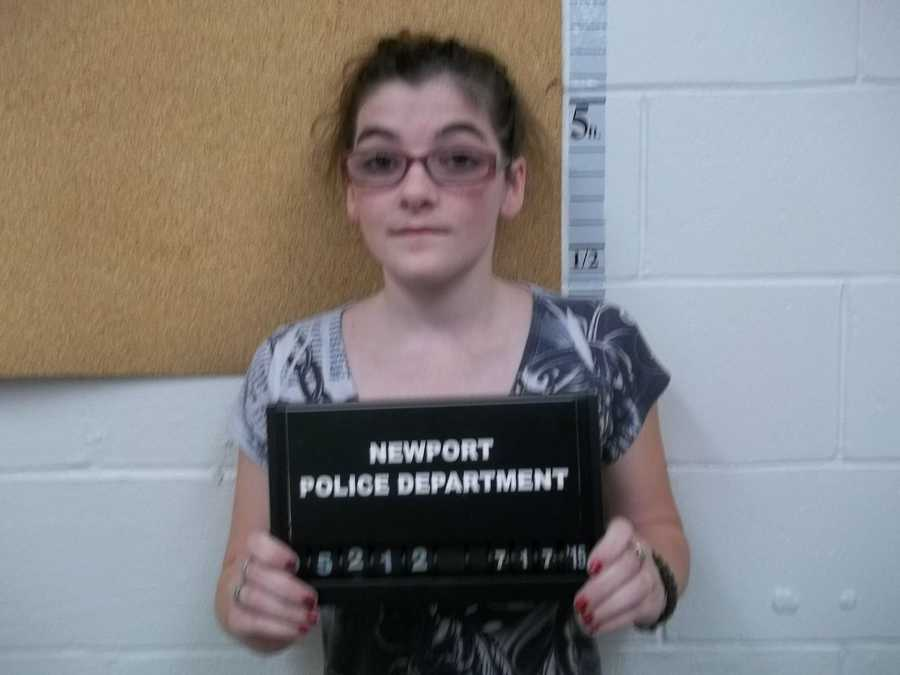 Kimberly Boutin, 24, of Newport, was charged with 4 counts of sale of a controlled drug, Oxycodone, Cocaine.