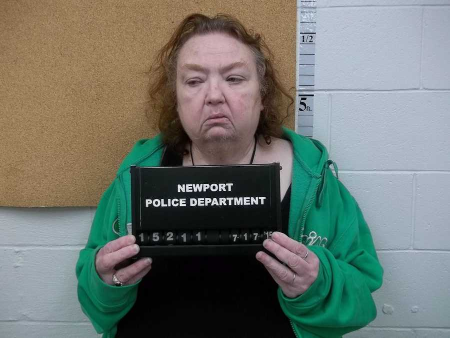 Phyllis Shea, 59, of Newport, was charged with 2 counts of sale of a controlled drug, marijuana.