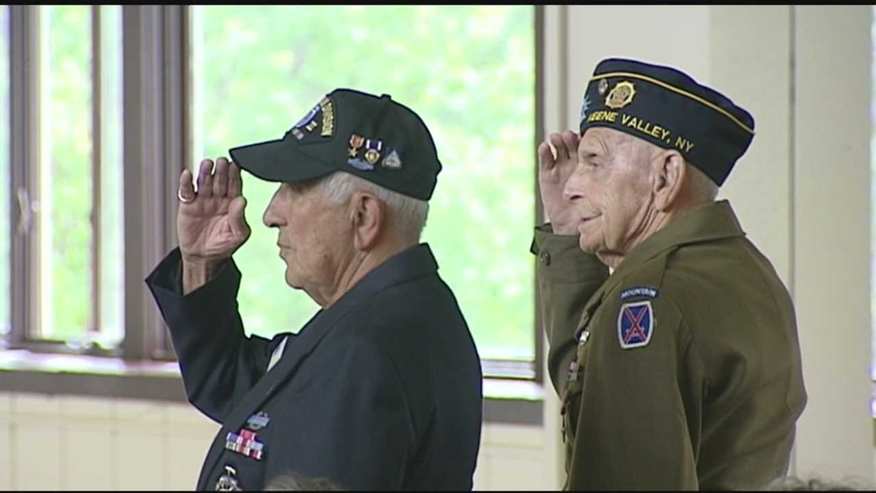 Every year, WWII veterans of the 10th Mountain Division are honored at Whiteface Mountain in Wilmington. But this year, the event was special for another reason.