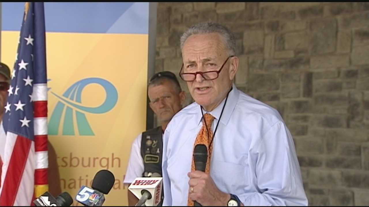 Sen. Chuck Schumer announced the Border Jobs for Veterans Act on Monday, which would require the Department of Defense and the Department of Homeland Security to recruit veterans for open positions.