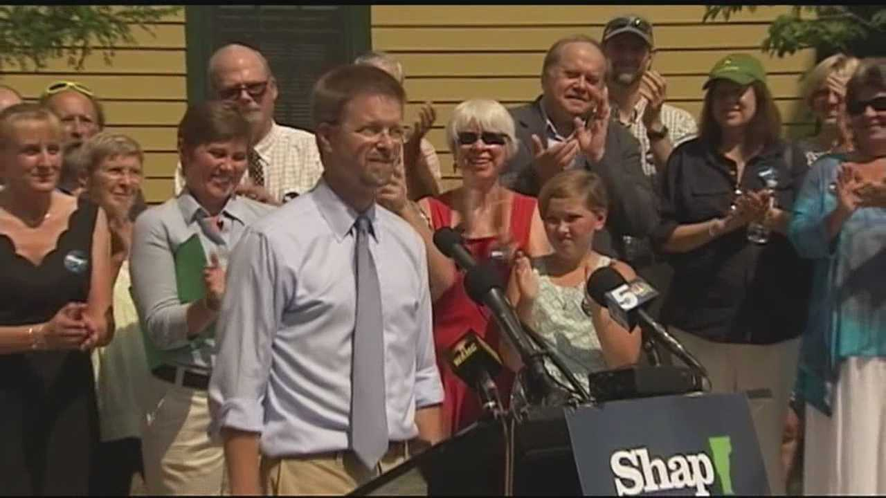 House Speaker Shap Smith of Morrisville is the first to enter Vermont's 2016 race for governor, outlining a platform that aims to deliver access to health care and higher education every Vermonter can afford.
