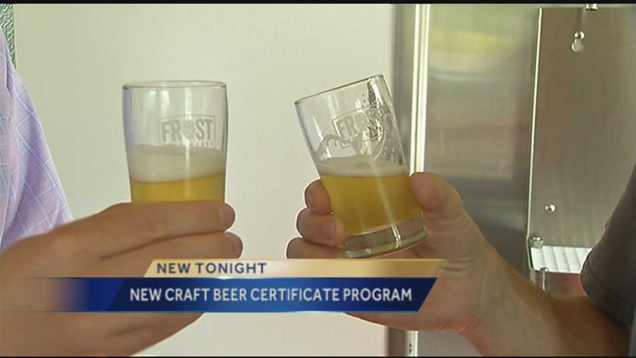 The University of Vermont has announced the launch of online continuing education courses that focus on the business of craft beer. The 12-week professional certificate program starts in February.