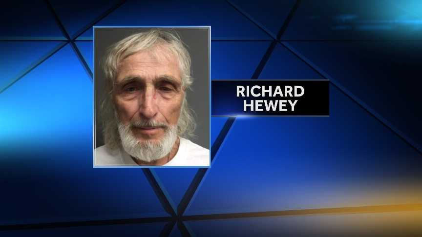 Richard Hewey, 73, of Bellows Falls is facing DUI and gross negligent operation charges after state police said he drove drunk the wrong way down I-91 Saturday night.