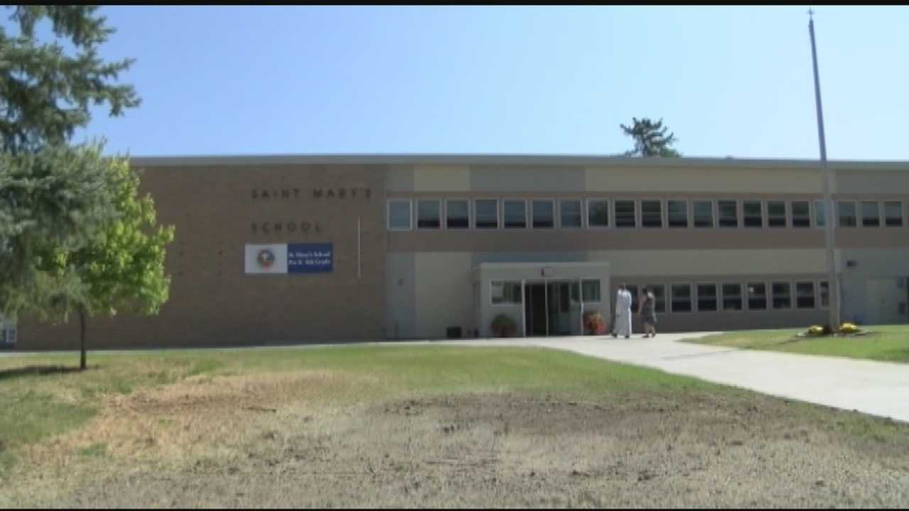St. Marys School in Ticonderoga let community walk through the newly renovated school ahead of the first day of class.