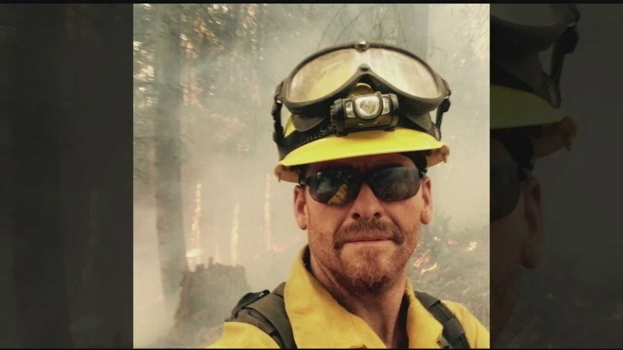 Matt Vincent, a firefighter with the Upper Jay Volunteer Fire Dept., spent over two weeks fighting wildfires in Oregon last month.